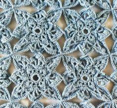 Best Free Crochet » Blue Medallion Table Runner – Free Crochet Pattern