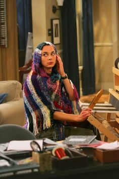 The Big Bang Theory- bahaha, one of the BEST EPISODES EVER!!! Sheldon's weaving ponchos ;)