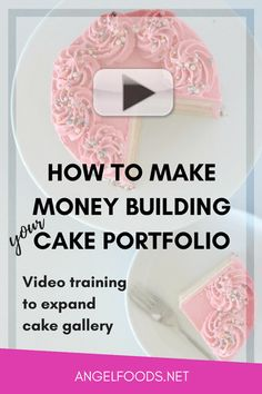 How to Make Money Building Your Cake Portfolio | Are you new to the cake business? Or maybe you want to expand your cake portfolio?