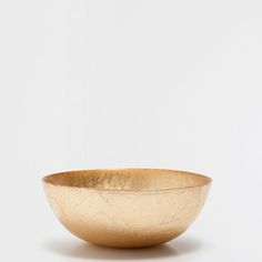 Image of the product Small golden salad bowl