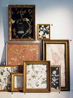 tavelvägg Room Inspiration, Interior Inspiration, December, My Dream Home, Home Interior Design, Wall Art, Antiques, Crafts, Nina Campbell