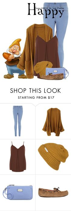 """""""Happy"""" by aritter102 ❤ liked on Polyvore featuring Disney, Dorothy Perkins, Krochet Kids, Nine West and UGG Australia"""