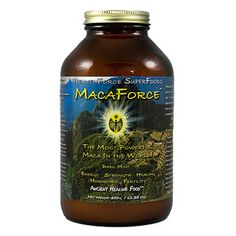 MacaForce Dark Mint™: MacaForce™ takes Maca root (Lepidium meyenii) to its full potential. Maca is an adaptogenic root famous for longevity, endurance and fertility, with all of the nutrients and balance nature intended, yet contains the potency of an extract. Carefully selected enzymes, probiotics, herbs, and energetics provide unprecedented full-spectrum bio-availability and therapeutic value never before possible...until now.