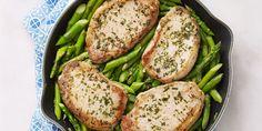Dijon Pork & Asparagus Sauté - GoodHousekeeping.com