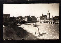 Praza da Constitución, Lugo. Ca. 1910. Xelatina de prata ao clorobromuro. 13 x 18 cm.