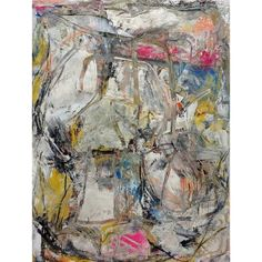 "Pioneer Driven Mad — ""Canadian Plywood"" oil,charcoal and paper on..."