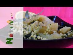 Μπακαλιάρος με σπανάκι και κεχρί - YouTube Potato Salad, Grains, Rice, Potatoes, Ethnic Recipes, Youtube, Food, Potato, Meals