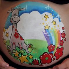 Bellypaint Rianne | Monique Huys