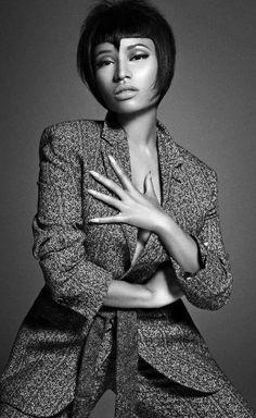 Nicki Minaj for L'Uomo Vogue October, 2014