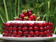 Tentações Sobre a Mesa: Bolo de Cerejas