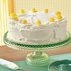 Lemon Curd Cake Recipe | MyRecipes.com