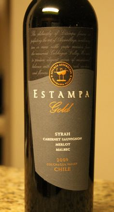 Review and Tasting Notes of Estampa Gold 2009 Assemblage