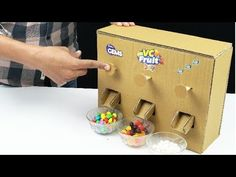 How to Build Candy Dispenser - YouTube