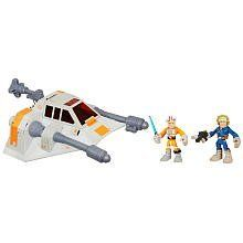 Star Wars Jedi Force Snowspeeder Luke Skywalker Han Solo by Hasbro. $39.95. Recommended Age: 3 years and up. Hasbro Star Wars Jedi Force Snowspeeder Luke Skywalker Han Solo  With Hasbro Star Wars Jedi Force Snowspeeder Luke Skywalker Han Solo, heroes can now skim across the surface of Hoth. Star Wars heroes love this nimble vehicle. When working under pressure, the heroes came up with the idea to trip up the enemy with a harpoon and tow cable as they dip and twist o...