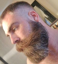 Over images of beautiful bearded men; Moustache, Beard No Mustache, Different Beard Styles, Long Beard Styles, Red Beard, Beard Love, Great Beards, Awesome Beards, Shaved Head With Beard