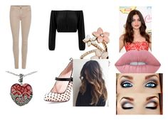 """""""Mayday"""" by pepper2good4u on Polyvore featuring 7 For All Mankind, RED Valentino, Lord & Taylor, Accessorize and Lime Crime"""