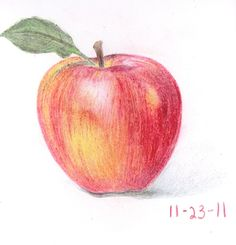 Apple color pencil