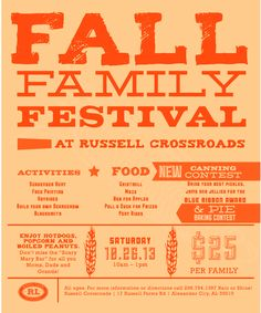 Fall Festival Flyers  Google Search  A Is For Autumn