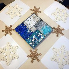 Snowflake Loose Parts (from The Curious Kindergarten)