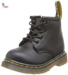 Dr. Martens BROOKLEE B Softy T BLACK, Chaussures bateau mixte enfant, Noir (Black Softy T), 20 EU - Chaussures dr martens (*Partner-Link)
