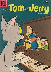 Tom and Jerry Dell/Gold Key) comic books Vintage Disney Posters, Vintage Comic Books, Vintage Cartoon, Vintage Comics, Cartoon Posters, Cartoon Characters, Dm Poster, Tom And Jerry Cartoon, Drawn Art