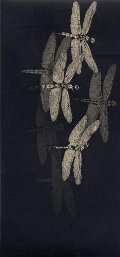 Shinji Ando, Fragment of the Sky, 2006. I like the contrast between the dark…