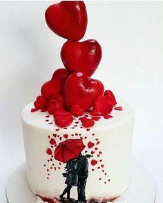 Aquele bolinho muito amor via ✨ @relicariocasar ✨ Porque o Dia dos Namorados está chegando! ❤️ #MuitoAmorNoAr ⠀