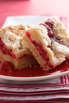 It doesn't need to be a holiday to make these warm and cozy cookie-pie bars. Use a pouch of Betty Crocker sugar cookie mix for the base, then top with a can of cherry pie filling (feel free to sub in your favorite flavor) and an easy almond-flavored topping. Perfect for when you want pie, but don't have the time to make it.