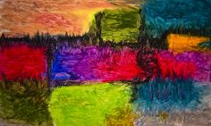 Abstract Art Oil Pastels - Notas 3 | Flickr - Photo Sharing!
