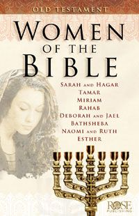 Women of the Bible: Old Testament looks at 11 women in the Bible, featuring women such as Sarah, Hagar, Miriam, Rahab, and Esther. This beautiful bestselling pamphlet presents the women through story and key life events, showing how God used them, plus real-life application for us today. Makes a great women's Bible study or reference.