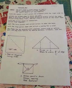 sewing origami bento bag - Recherche Google