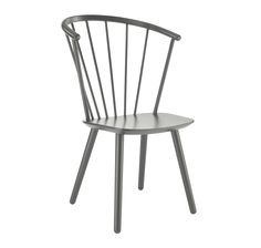 The Sleek high dining chair, grey beech by Bolia boasts a frame finish in grey lacquered beech, with a seat finish in grey lacquered beech. Designed by Says Who, this beautiful grey chair is the perfect compliment to a coastal dining room.