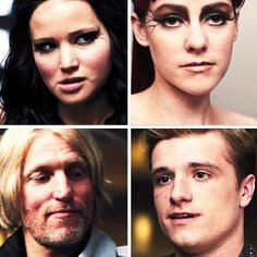 Elevator Scene... I loved Katniss's face in the move. I was laughing so hard