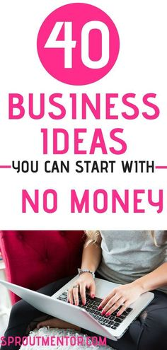 Starting an online business is not easy. Here are 40 online business ideas and online business opportunities you can start with little or no money and no experience. Quit your Job in 60 days or Less. Start A Business From Home, Start Online Business, Online Business Opportunities, Home Based Business, Starting A Business, Business Planning, Retirement Planning, Retirement Cards, Easy Business Ideas