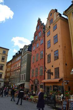 Gamla Stan (Old Town), Stockholm.    #sweden #travel #stockholm