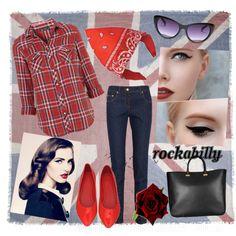Rockabilly :) by aniuu on Polyvore