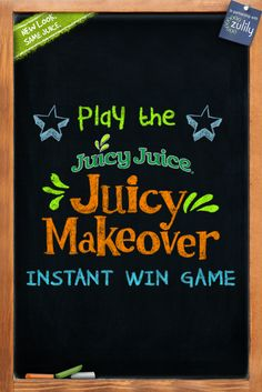 Enter the Juicy Makeover Instant Win Game for a chance to win great prizes including a $2,500 shopping spree!
