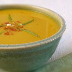 Gluten-Free Snacks: Curried Butternut Squash Soup