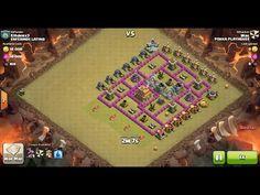 Clash of Clans TH7 vs TH7 Dragon Clan War 3 Star Attack ⋆ Clash of Clans 3 Stars Clan Wars