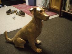 paper mache dog sculptures | Paper Mache Sculptures – Photos from Readers