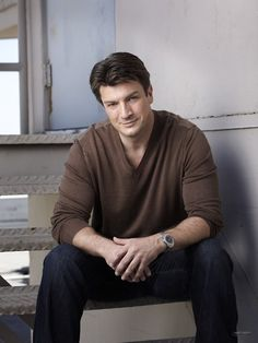 Nathan Fillion I love him Nathan Fillion, Castle Tv Series, Castle Tv Shows, Angeles, Firefly Serenity, Cute Celebrities, Celebs, Pretty Lingerie, Stana Katic