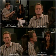 Asking robin on a date. How I Met Your Mother #himym