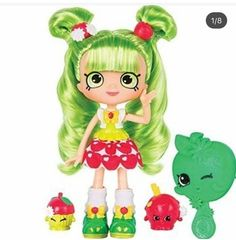 Shopkins Shoppies Doll - Blossom Apples already viewed Shoppies Dolls, Shopkins And Shoppies, Free Shopkins, Shopkins Guide, Shopkins Happy Places, Cookie Swirl C, Vip Card, Crafts For Kids, Wreaths