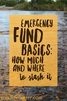 How much you save in your emergency fund--and where you keep it--is up for debate! #emergencyfund via @goodlifebetter