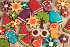 LilaLoa: Summer Tree Cookies