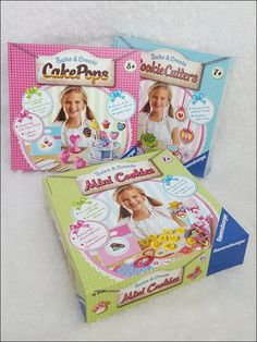 Ich zeige euch selbst erfundene Mohncookies mit Bake & Create von Ravensburger + Gewinnspiel
