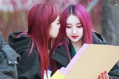 Jiu and Sua You Are My Friend, Hush Hush, Dream Catcher, Kpop, Couples, Hair Styles, Beauty, Strawberry, Meme