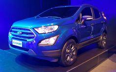 Ford apresenta o novo EcoSport brasileiro na Argentina   Quatro Rodas