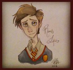 Teen Remus Lupin by Alomoria on @DeviantArt