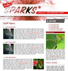 employee newsletter format
